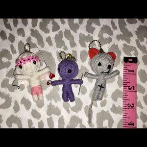 Watchover Voodoo Dolls Keychains set